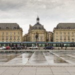 Plac przed hotelem de La Bourse - Bordoux - by Javier Corbo