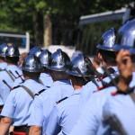 Pochód francuskich policjantów by escalepade