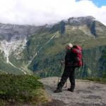 Początkowy szlak na Mont Blanc by heatheronhertravels