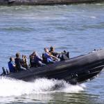 Pokaz jednostek wodnych - święto zdobycia bastylii - 14 lipca by escalepade