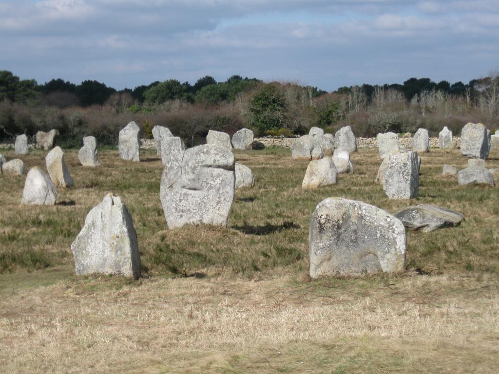 Pole kamieni w Carnac by LostInBrittany