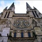 Przód katedry Saint André w Bordeaux by jadeilyn