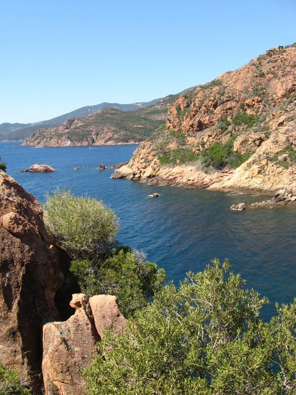 Rezerwat Scandola - Korsyka - Morze Śródziemne - by s_levaillant
