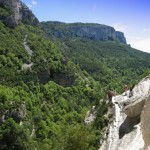 Roślinność kanionu Verdon - by Cyklista Dalibor