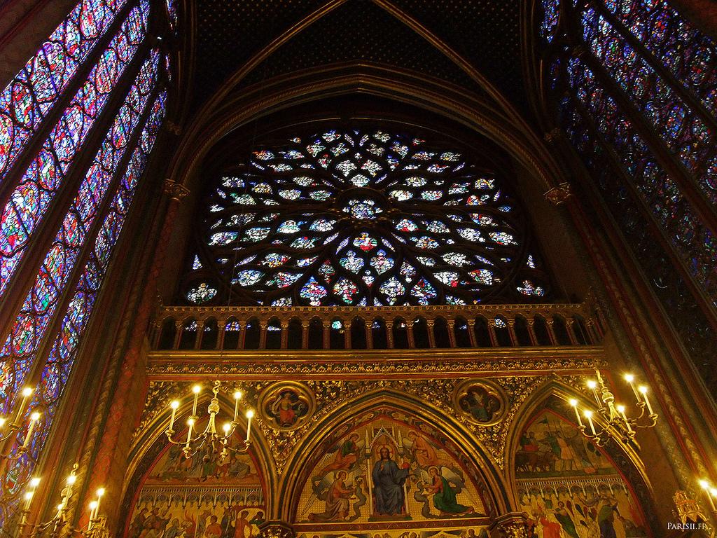 Saint Chapelle - Francja - Kaplica- by joriavlis