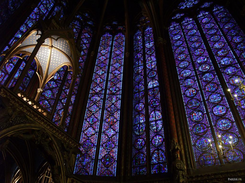 Saint Chapelle - wnętrze -  by joriavlis