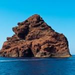 Skała na morzu - Rezerwat Scandola - Korsyka - by PhotoSophil