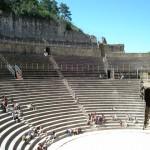 Starożytny teatr rzymski w Orange we Francji by samuel_belknap
