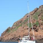 Statek wycieczkowy - turyści - Rezerwat Scandola - Korsyka -  by loic4467