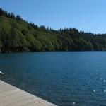 Stojąc nad jeziorem Pavin - by Oncle Tom