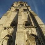 Stojąc przed jedną z wież katedry Chartress by jacQuie.k