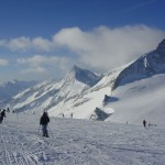 Stok narciarski w Alpach by destinyuk