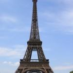 Symbol Francji i Paryża - Wieża Eiffla - by bortescristian