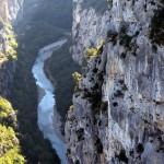 Tak wygląda Kanion Verdon - 700m głębokości - by velodenz