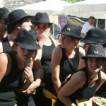 Tancerze podczas festiwalu w Awinionie by weegolo