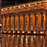 Teatr Wielki w Bordeaux - nocą - by maofiozo