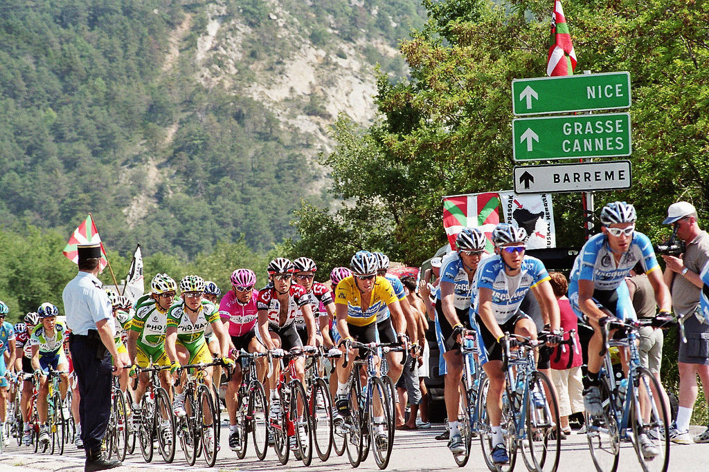 Tour de France w Alpach by hada55