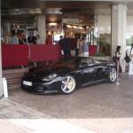 Typowy widok podczas Festiwalu w Cannes - Porsche Carrera GT - by Charalampos Konstantinidis