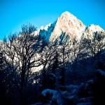 Widok na Mont Blanc z Les Houches by lassi.kurkijarvi