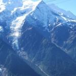 Widok na Szczyt Mont Blanc z Planpraz by bugmonkey
