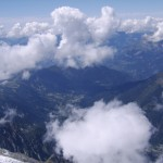 Widok ze szczytu Mont Blanc - by Mat Strange