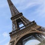 Wieża Eiffla - Paryż - Francja -  by bortescristian