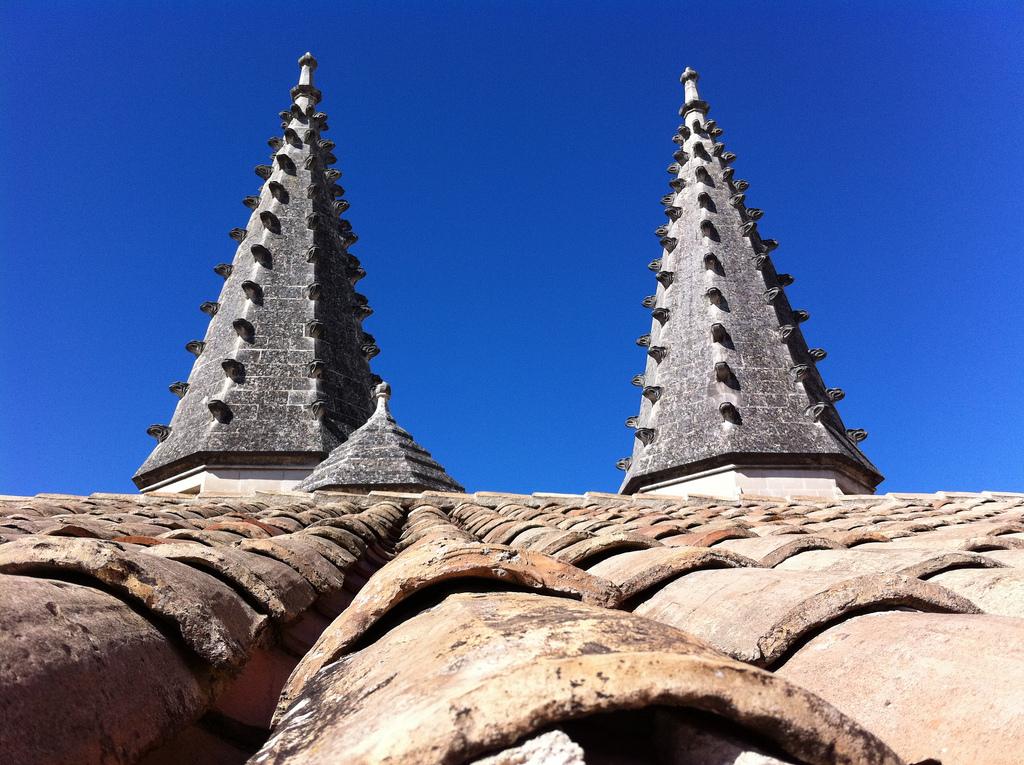 Wieże Pałacu Papieży we Francji - Awinion - by DaveOnFlickr