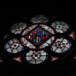 Witraż - Kościół Saint Chapelle - by Eric Mills