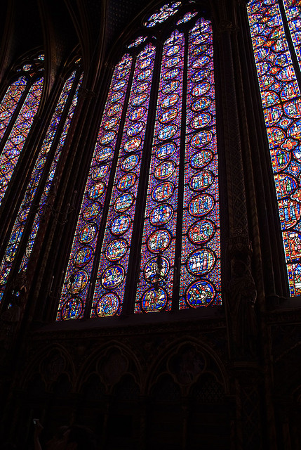 Witraże w Katedrze Saint Chapelle we Francji - by rodolfoml