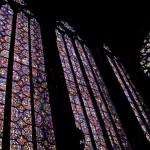 Witraże w kościele Saint Chapelle we Francji by rodolfoml