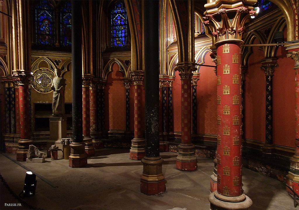 Złoto i przepych w kaplicy Saint Chapelle we Francji - by joriavlis