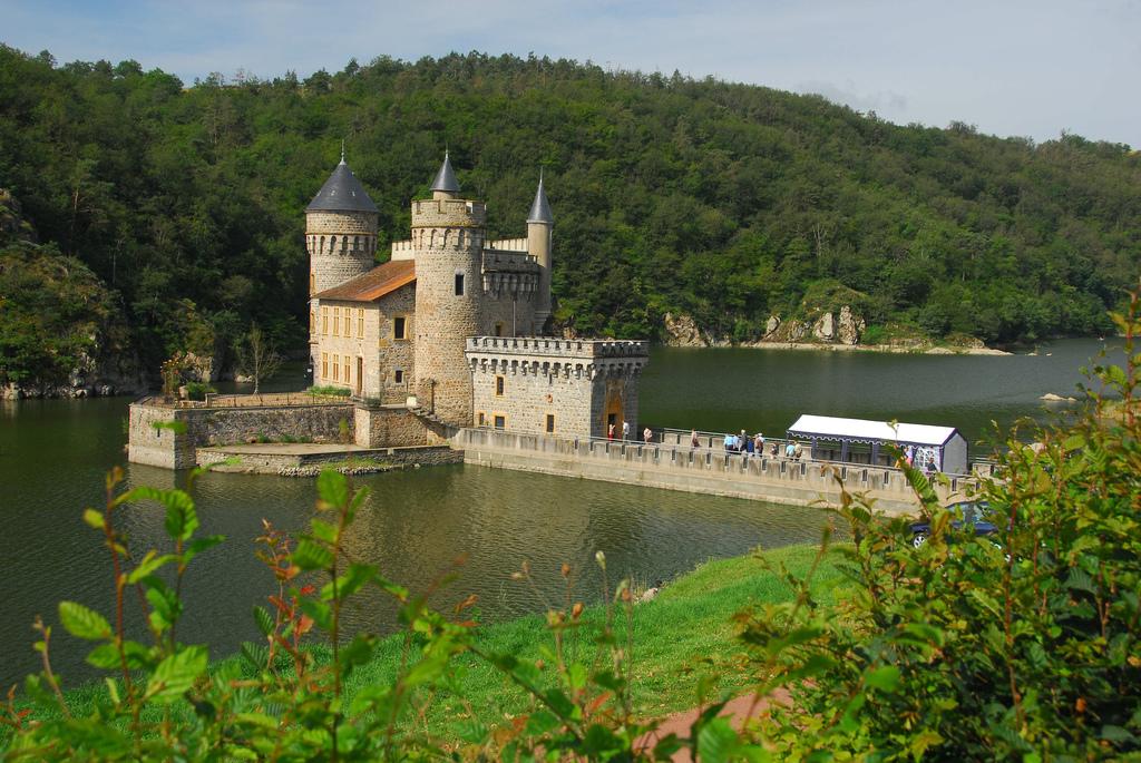 Zamek na Loarze w Sain Priest La Roche by ceesjw (Cees Wouda)