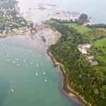 Zatoka Morbihan z lotu ptaka by pblome
