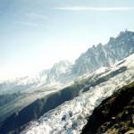 Zbocza Mont Blanc