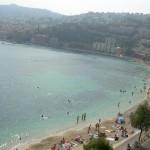 Nicejska Plażą - Riwiera Francuska - Lazurowe Wybrzeże - by Wilson Loo