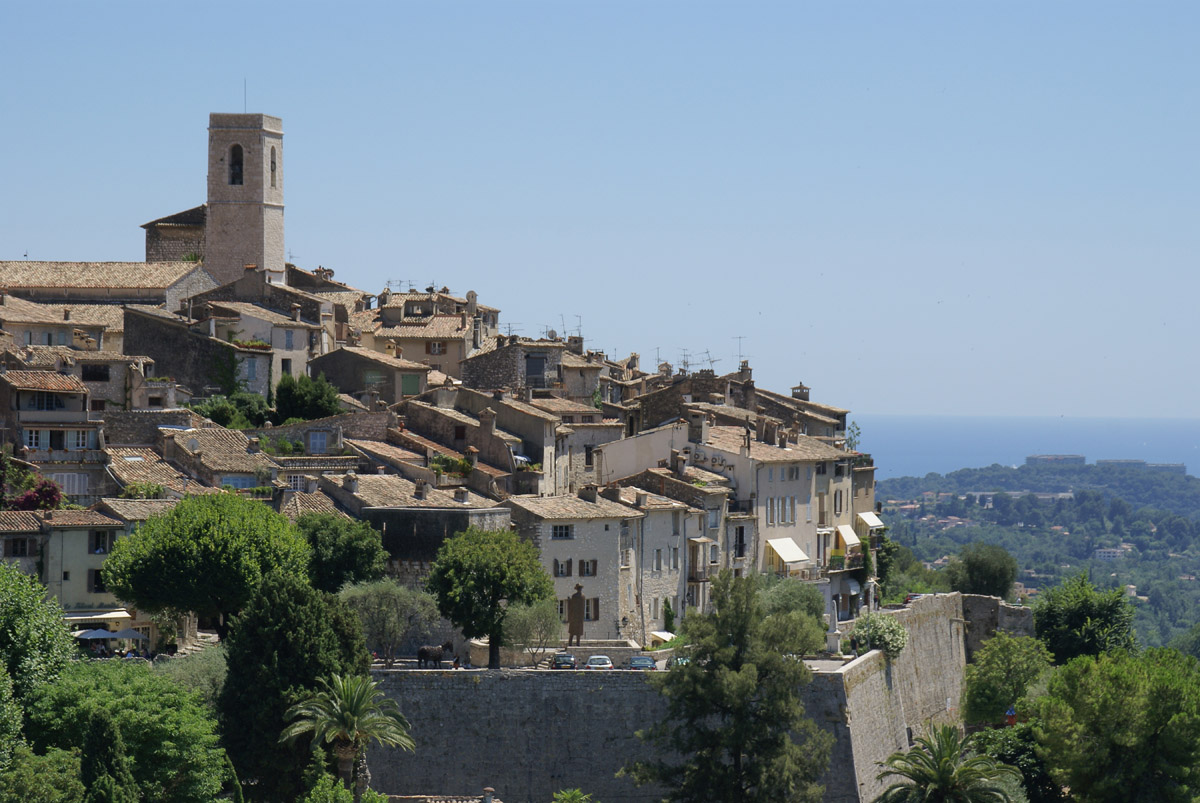 St Paul de Vence, Cote d'Azur, France