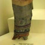 19 wiek - buty chińskie - muzeum butów w Romans we Francji