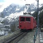 Alepjski pociag w Chamonix w Alpach - by eGuide Travel