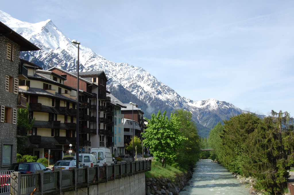 Alpejski Chamonix - by edwin.11
