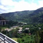 Alpy francuskie - widok z pociągu - by Keith Laverack