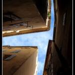 Budynki w Grasse są nawet wysokie - prawie jak wieżowce - by Ahef