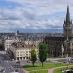 Caen - miasto w Normandii