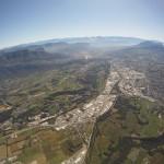 Chambery - widok z wysokości 6000m - by shivapat