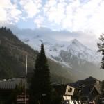 Chamonix - Francja - Alpy - by Sally Payne