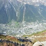 Chamonix - widok z góry - by nicolasnova