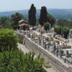 Cmentarz w Vence gdzie leży Witold Gombrowicz - by 49er Girl