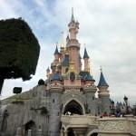 Disneyland - Francja - zamek - symbol bajek - by Sean MacEntee