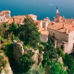 Domki w Eze nad morzem są piękne - Lazurowe Wybrzeże - by calips96
