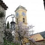 Dzwonnica i zegar w Eze - by Stefe
