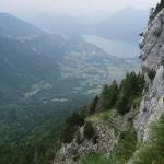 Góry Alpy w okolicach miejscowości Annecy we Francji - by jcmorand